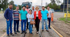 Centrorochas visita TPS com GT da DU-e para acompanhar processo de exportação