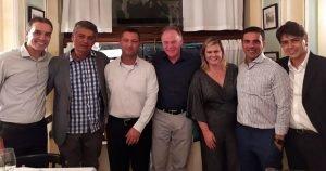 Centrorochas apoia jantar em Verona que reúne autoridades e empresários capixabas presentes na Marmomac